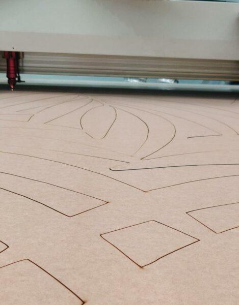 Olores por corte de laser